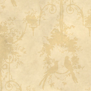 McCallister Toile  ~ Parchment Shadow