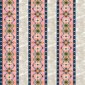 boho basic -03 peach stripe