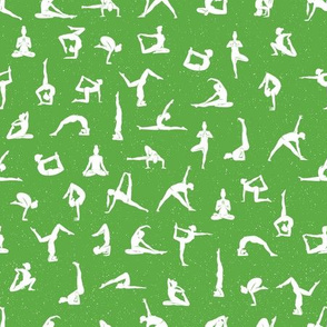 I love yoga Green