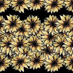 Dark Edged Sunflower Stripe