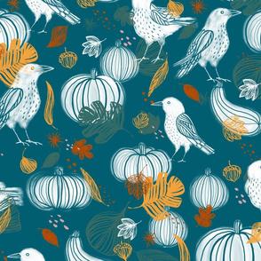 Autumn Crows - © Lucinda Wei