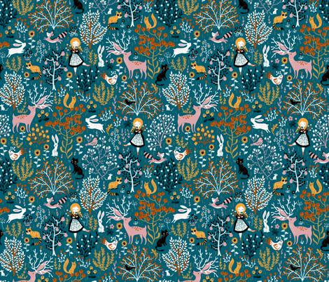 countrydreams fabric by gaiamarfurt on Spoonflower - custom fabric