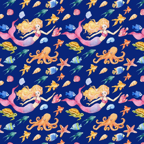 mermaid pattern