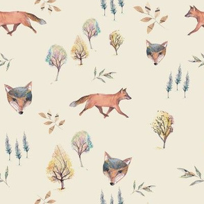 foxes_woodland