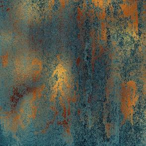 Copper & Indigo Grunge(Large)