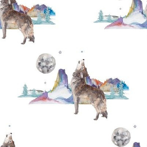 "8"" Boho Wolf Version 2"