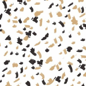 terrazzo fabric, terrazzo style fabric, terrazzo pattern, terrazzo fabric by the yard, modern fabric by the yard, trendy 2019 fabric, 2019 trend fabric, ss 18 19 fabric, modern fabric - gold