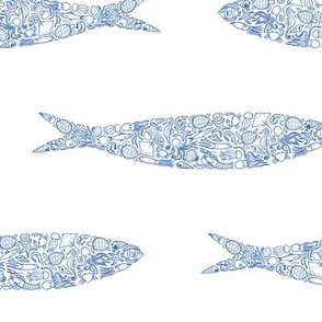 Sardine of Sea Animals
