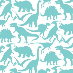 Little Dinosaur Friends - Turquoise