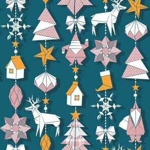 Origami Christmas Dream Catcher
