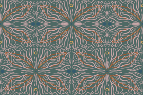 Twisted fabric by copapod on Spoonflower - custom fabric