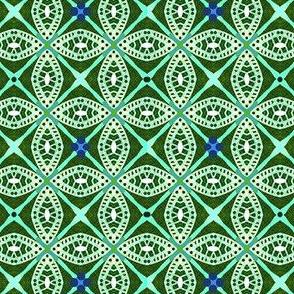 Invulnerability / Fanciful Circles  - blue,green,aqua