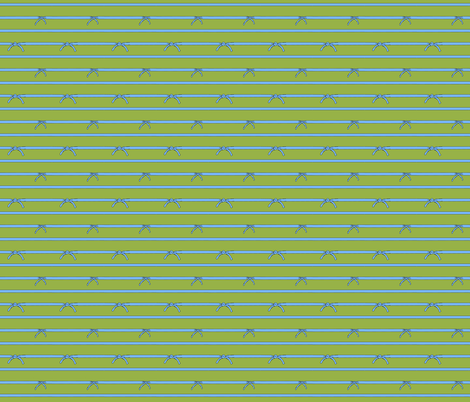 Knotted Sky Stripe | Forager's Brights fabric by lochnestfarm on Spoonflower - custom fabric