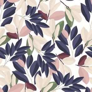 Leaves in Garden / Maison de Fleurs
