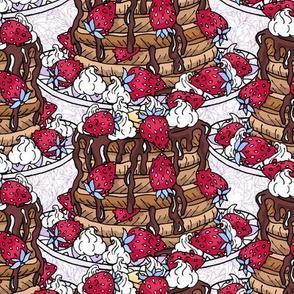 StrawBEARy Pancakes