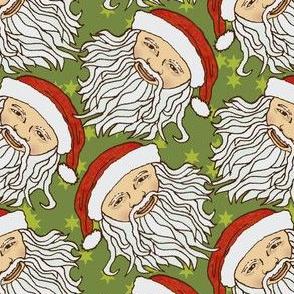Asian Cartoon Santa