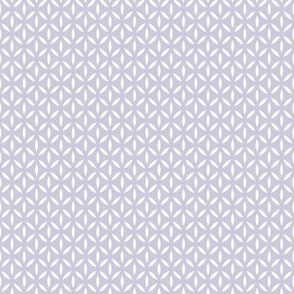 Leafpoint Lattice: Violet Purple Latticework