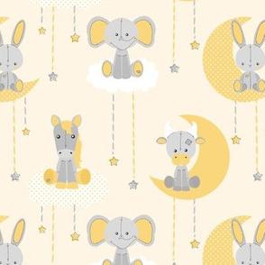 Sweet Dreams Stuffed Animals Yellow