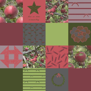 "4"" Wholecloth Patchwork: Eclectic Solstice 