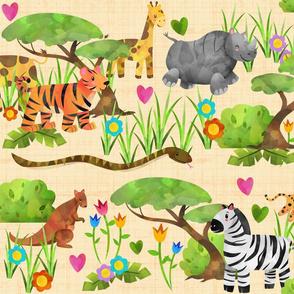 Wild Safari Tan
