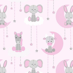 Sweet Dreams Stuffed Animals Pink