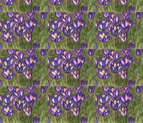 Coleus flowers original fabric by mary'sart on Spoonflower - custom fabric