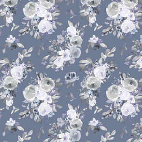 Blue Floral Lightgarden