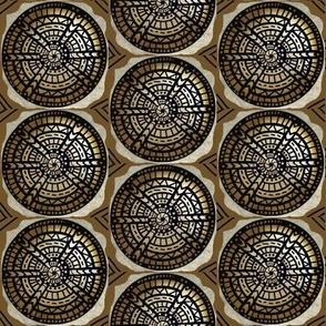 Invulnerability Shield  /olive brown / neutral