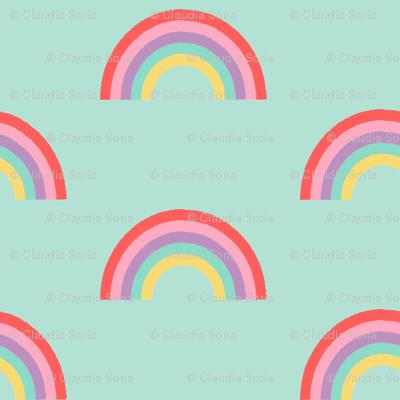 Rainbow - Mint