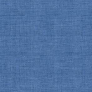 Linen, Prussian Blue
