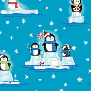 snowballs penguin Flat