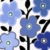 Sweet retro mini floral