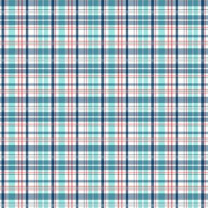 Deck Chair Plaid - Nautical Small Scale