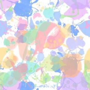 Pastel Paint Splatter