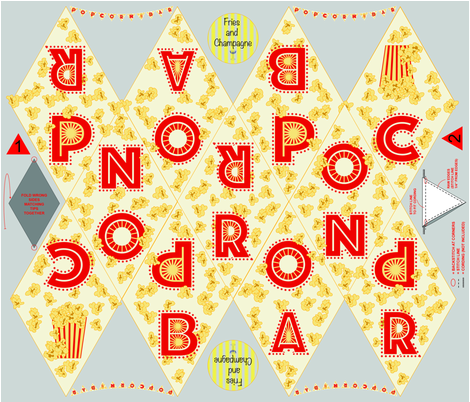 popcorn_bar_bunting-01 fabric by fries_and_champagne on Spoonflower - custom fabric