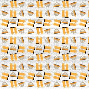 CA hats gloves texture background
