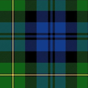 "Gordon Highlanders tartan, 14"" modern colors"