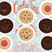 Cookie time - cut and sew plushies