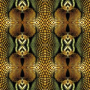 Iguana Print Pattern