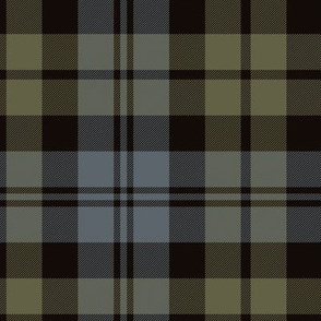 "Black Watch tartan, 12"" weathered"