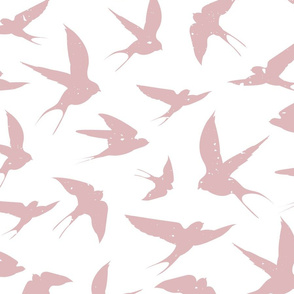 Just Swallows - Mauve
