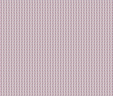 doll house jacobean stripe fabric by leroyj on Spoonflower - custom fabric