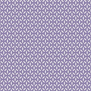 Leafpoint Lattice: Medium Violet Purple Latticework