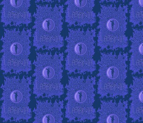 Labyrinth fabric by fallenleaves on Spoonflower - custom fabric