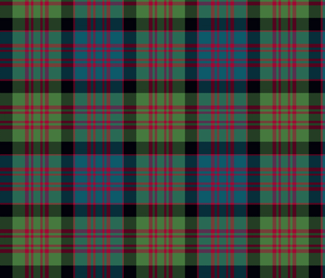 "MacDonald tartan variant, 8"" muted fabric by weavingmajor on Spoonflower - custom fabric"