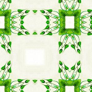 Green Leaf Frame  01