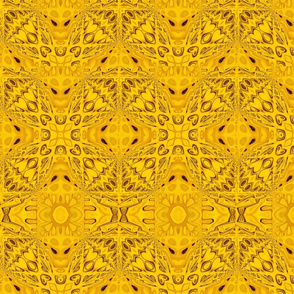 Yellow Petals with Depth  001