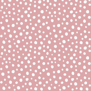 dots on blush