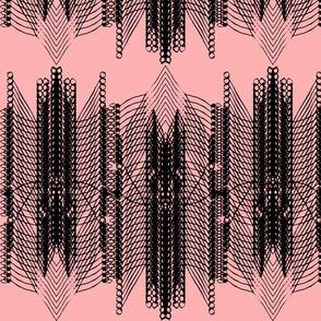 Geometric 1 - pink