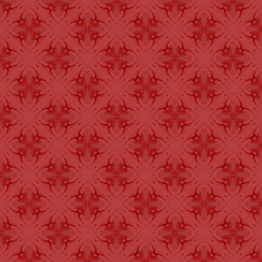 Pattern in red